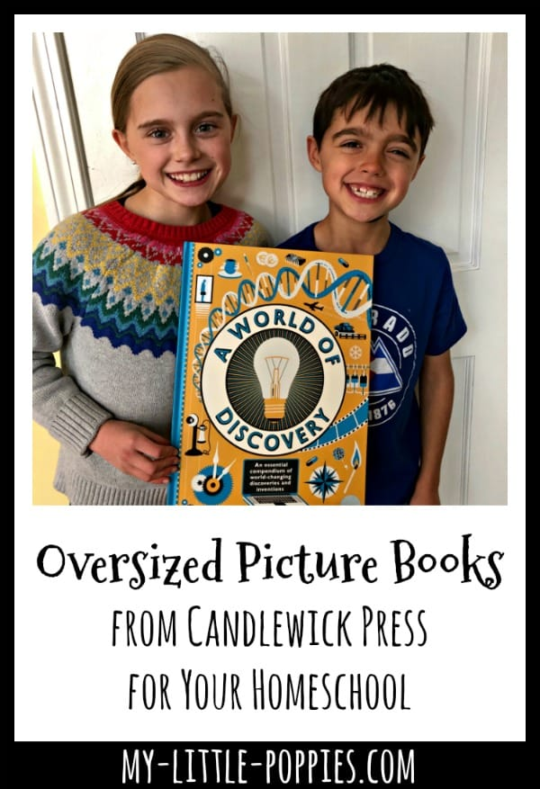 Oversized Picture Books from Candlewick Press for the Win! | My Little Poppies