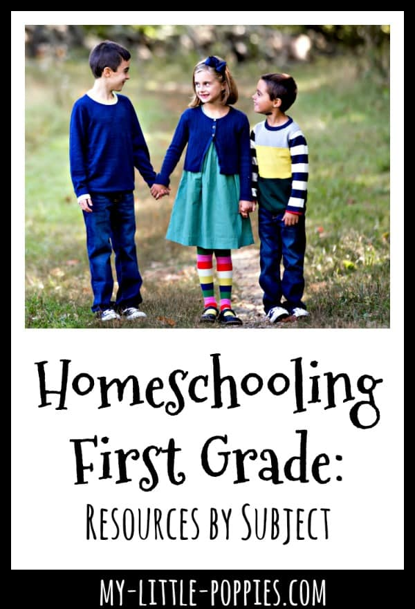 Homeschooling First Grade: Resources by Subject | My Little Poppies