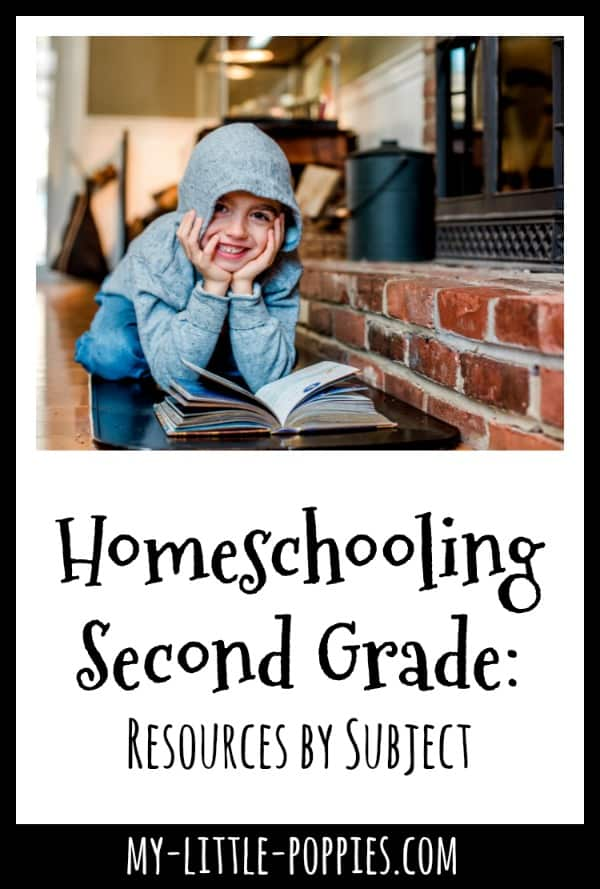 Homeschooling Second Grade: Resources by Subject | My Little Poppies