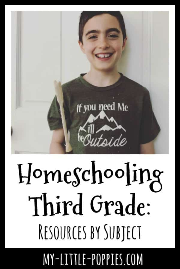 Homeschooling Third Grade: Resources by Subject | My Little Poppies