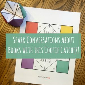 Spark Conversations About Books with This Cootie Catcher! | My Little Poppies
