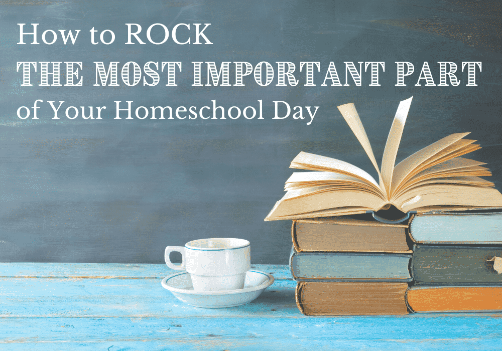 How to Rock THE MOST IMPORTANT PART of Your Homeschool Day | Caitlin Fitzpatrick Curley, MA/CAGS, My Little Poppies