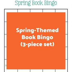 Spring-Themed Book Bingo (3-piece set) | My Little Poppies