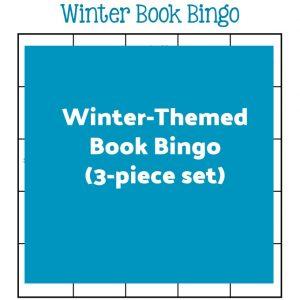 Winter-Themed Book Bingo (3-piece set) | My Little Poppies