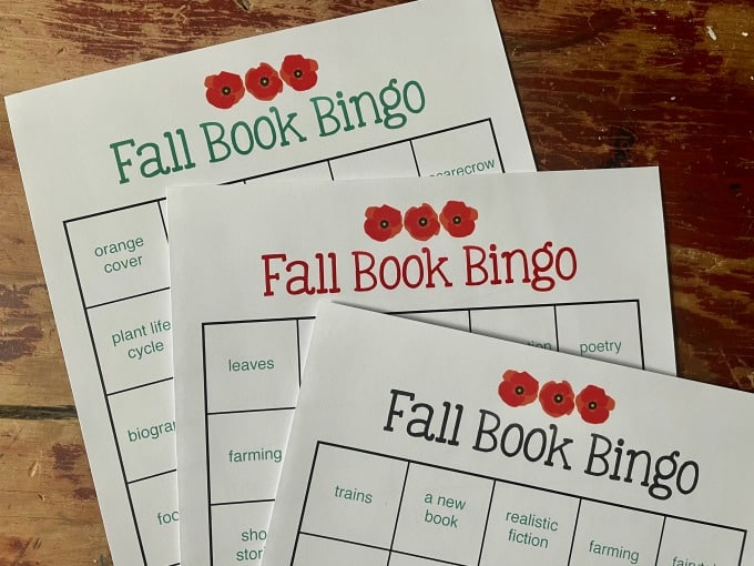 How to Encourage Reading and Play with Book Bingo | My Little Poppies