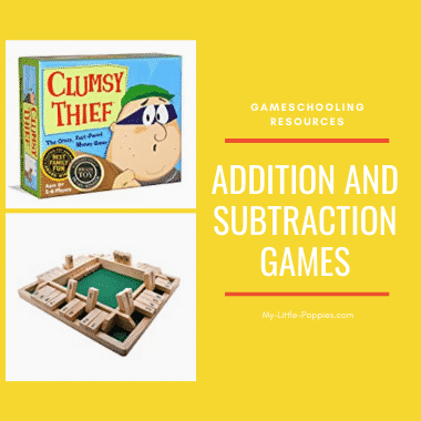 Addition and Subtraction Games | My Little Poppies
