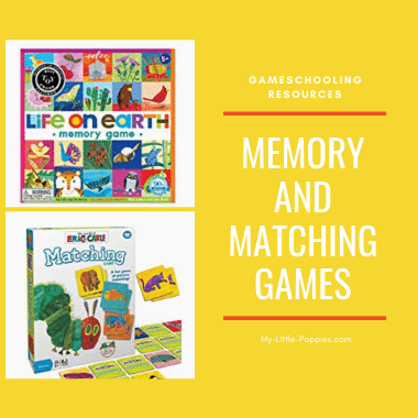 Memory and Matching Games | My Little Poppies