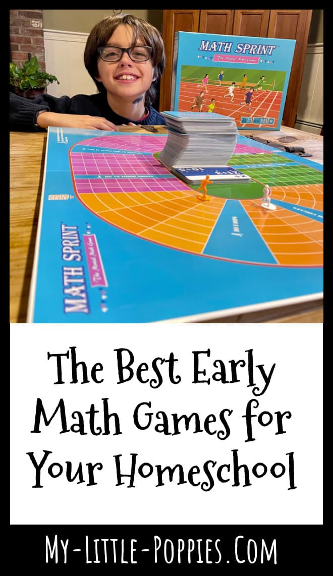 The Best Early Math Games for Your Homeschool | My Little Poppies