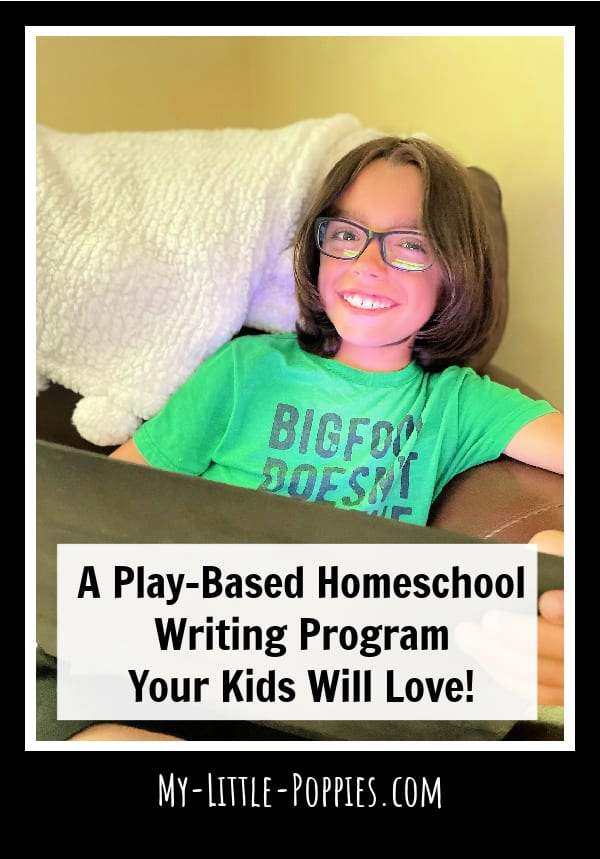A Play-Based Homeschool Writing Program Your Kids Will Love! | My Little Poppies