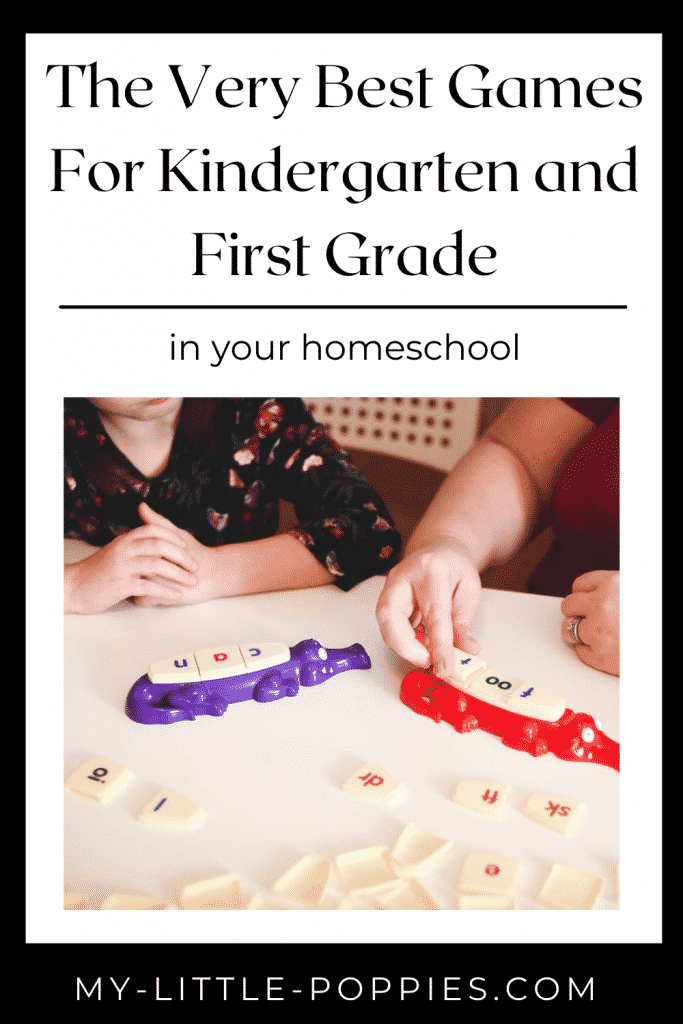 Games For Kindergarten and First Grade