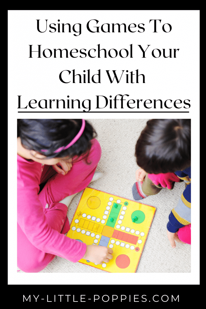 gameschooling learning differences