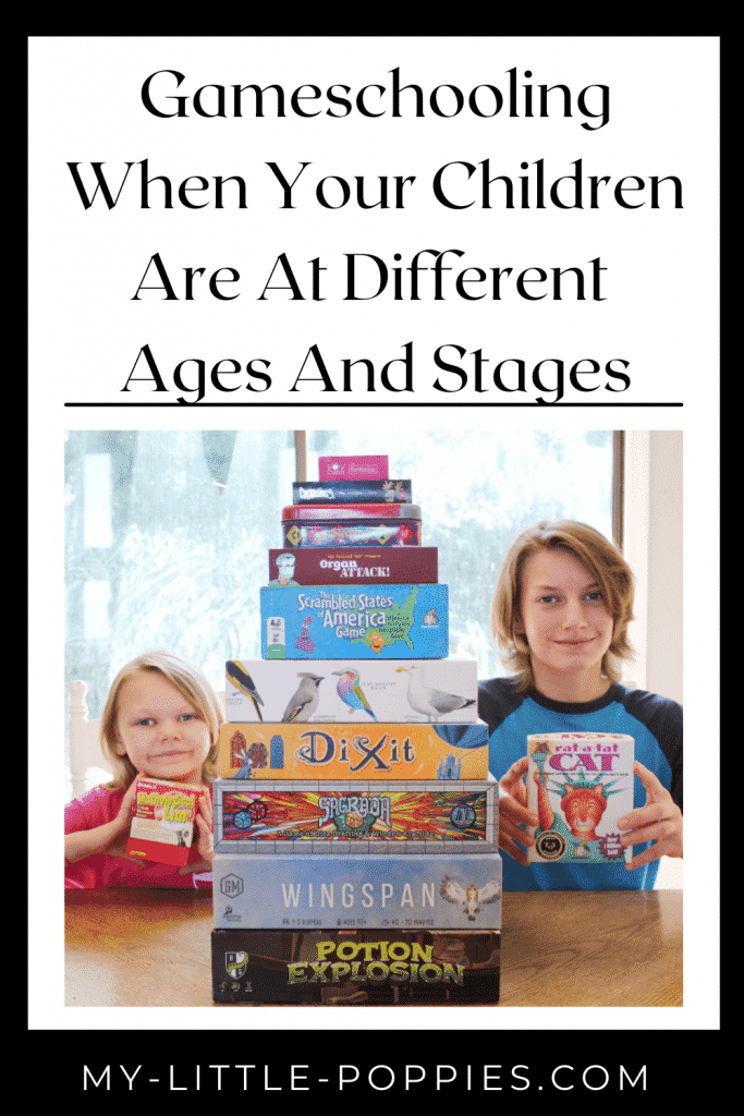 Gameschooling When Your Children Are At Different Ages And Stages