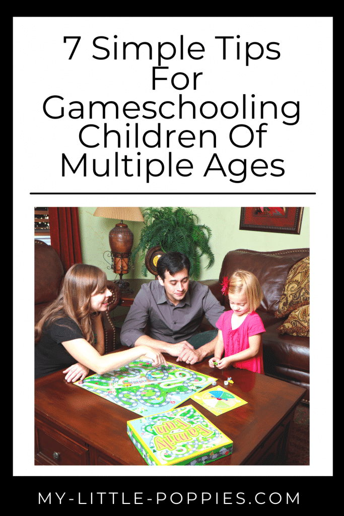 7 Simple Tips For Gameschooling Children Of Multiple Ages