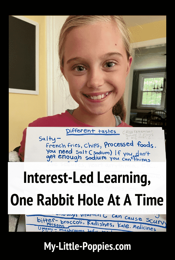 Interest-Led Learning, One Rabbit Hole At A Time | My Little Poppies